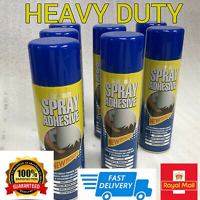 Spray Contact Adhesive Glue Heavy Duty Mount DIY Crafting Upholstery 500ml