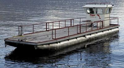 Pontoon Boat Cargo Platform Catalog  L30' X W10' Professionally Built