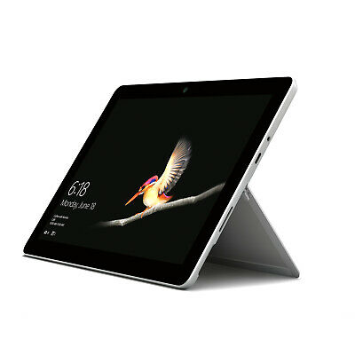 Microsoft Surface Go 128GB, Wi-Fi, 10in - Silver - USED