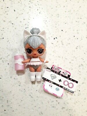LOL Surprise Glam Glitter Ultra Rare Kitty Queen Doll New Complete