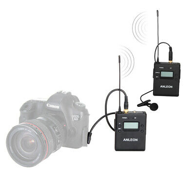 Professional Anleon 40CH Wireless Microphone System For Camera Camcorder Nikon