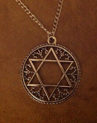 Ancient Celtic Wicca Pendant on 925 Silver Chain.    FREE POSTAGE