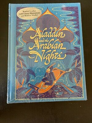 NEW SEALED Aladdin and the Arabian Nights Bonded Leather Collectible Editions