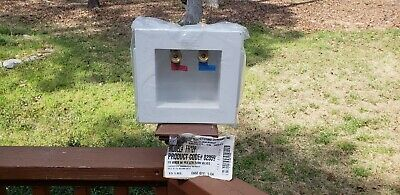 IPS FR12P Fire Rated Washing Machine Outlet Boxes PEX Quarter Turn Valves 82359