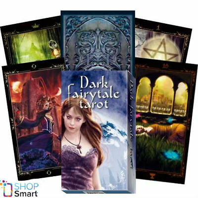 Dark Fairytale Tarot Deck Cards Esoteric Fortune Telling Lo Scarabeo New