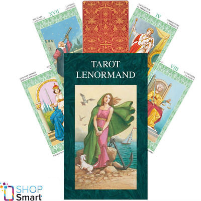 Tarot Lenormand Deck Cards Fitzpatrick Esoteric Fortune Telling Lo Scarabeo New
