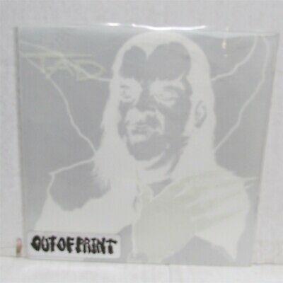 """TAD Lycanthrope 1992 7"""" YELLOW VINYL Signed By Pushead GLOW IN THE DARK SLEEVE"""