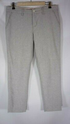 Levis Womens Dress Pants Size 28 wool lend lined gray Ankle