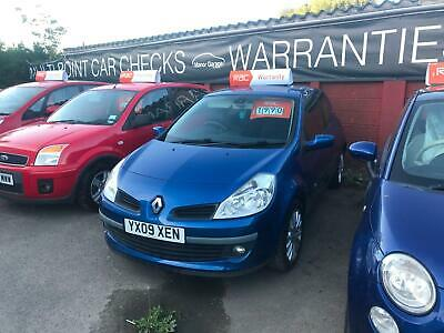 Renault Clio 1.2 16v ( 75bhp ) Dynamique 1 Owner Low Miles