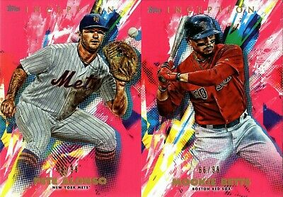 2020 Topps Inception Magenta Parallel #/99 Singles W/ Rookie Rc 1-100 - You Pick