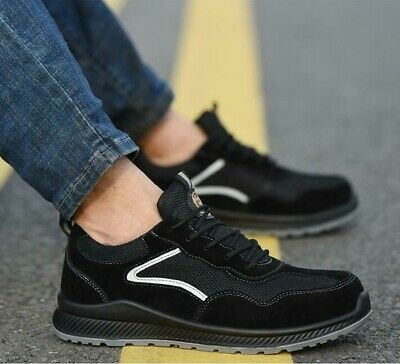 UK Safety Shoes for Men Women Steel Toe Trainers Lightweight Work Shoes Sports S