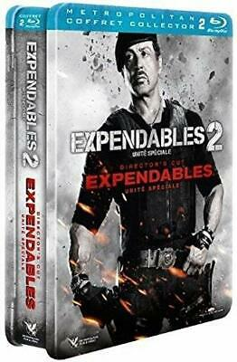 Expendables 1 Et 2 Steelbook Blu Ray  Stalone Neuf Sous Cellophane