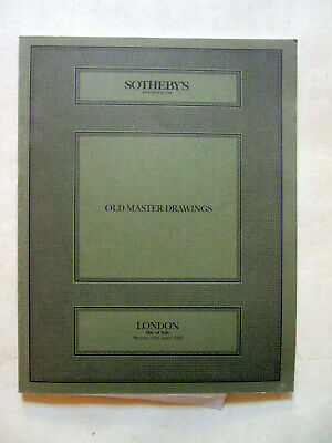 Sotheby's - Old Master Drawings (London 1992)
