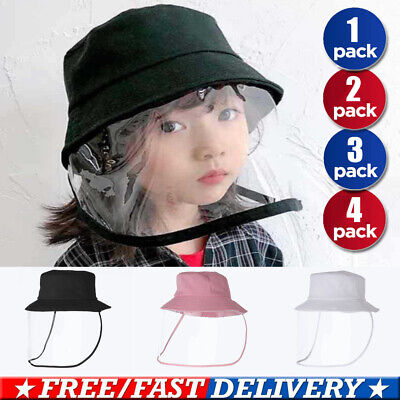Anti-spitting Protective Hat Dustproof Cover Kids Boys Girls Fisherman Cap Hat