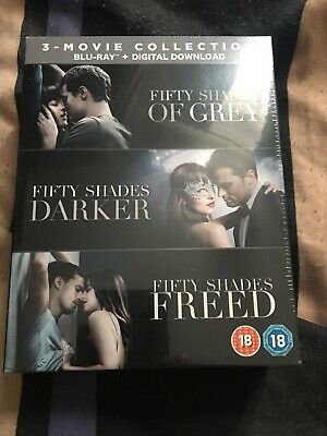 Fifty Shades: 3-movie Collection (Box Set NEW SEALED!!! [Blu-ray]