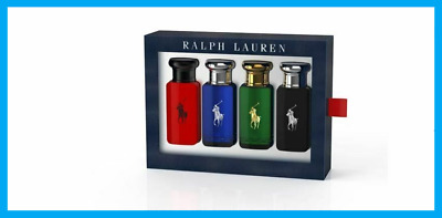 Ralph Lauren WORLD OF POLO Gift Set 4 x 30ml, POLO/POLO BLUE/POLO BLACK/POLO RED