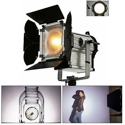 LED Fresnel 50W-300W Spotlight Professional Photography Studio Dimmable Lighting