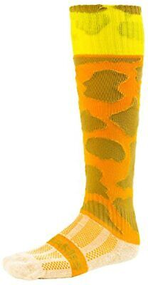 Webb Ellis Giraffe Mädchens, Knee Length Socks - Brown, Size 12 - 2