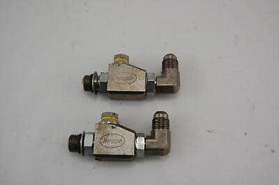 Lot of 2 Nordson Saturn In Line Filters 90 Degree Hot Glue Melt Applicator READ