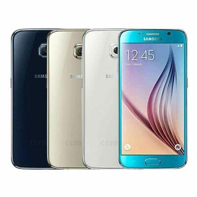 New Unlocked Samsung Galaxy S6 G920F LTE 4G Android Mobile Smart Phone 32GB XMAS