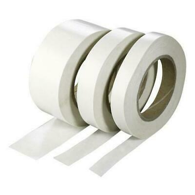 DOUBLE SIDED TAPE CLEAR STICKY TAPE DIY STRONG CRAFT ADHESIVE 24MM x 10M
