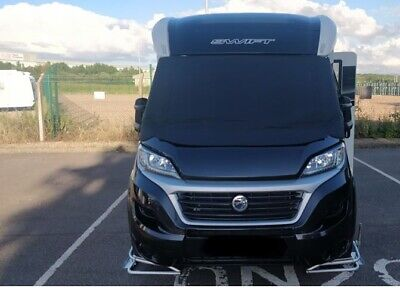 Polar BLACK Thermal Screen Cover Fiat Ducato / P.Boxer with extended Vent Flap