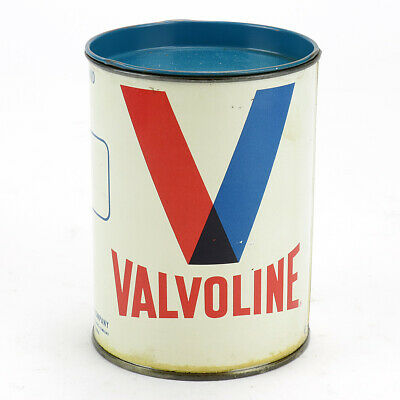 Vintage Valvoline Grease 1 lbs Can Full NOS