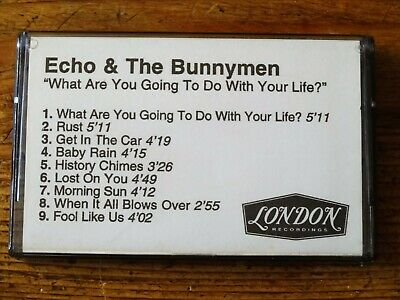XTRare  tape   ** ECHO & THE BUNNYMEN ** What are you etc PROMO