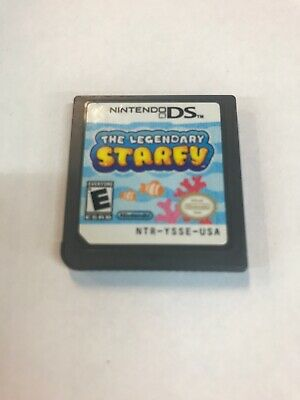 Nintendo Ds Game The Legendary Starfy Game Only No Case
