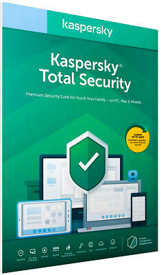 Kaspersky Total Security  2020 3 Pc Devices  2 Year License ( Global Key )