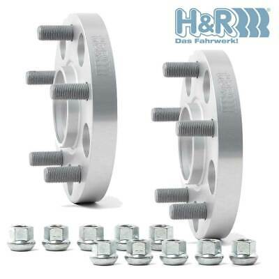 2x50mm H/&R wheelspacers for BMW X5 X6 B100757404