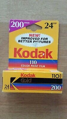 Vintage Kodak Film 200 24 Exposures 110 Film Expired 10/1998 New
