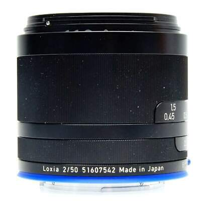 Zeiss 50mm f2 Planar T* Loxia Lens for Sony (Boxed)