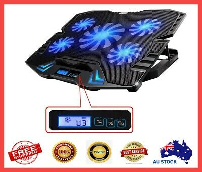 Laptop Cooler Board Cooling Pad Riser Notebook Stand Gaming Fans Accessories NEW