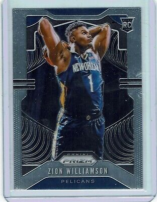 Zion Williamson 2019 Silver Panini Prizm 5 Card Lot > *Buyback Pack Please Read*