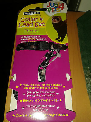 Just 4 Pets Collar & Leads Set For Ferrets