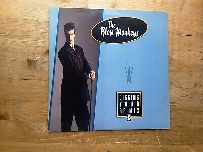 "The Blow Monkeys Digging Your Scene Remix 10"" 4 Track Vinyl Record MONK Y1"