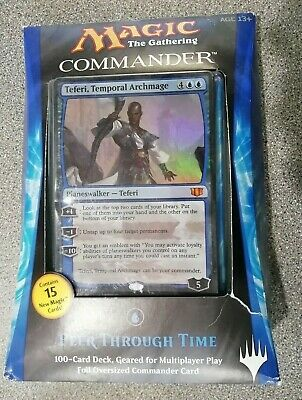 Magic of the Gathering (Commander Deck) Peer Through Time - New - Fast Despatch