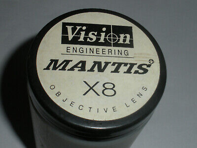 Vision Engineering 8X Mantis Microscope Objective Lens X8