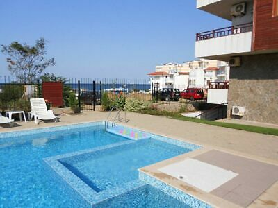 One bed apartment in Sozopol, Bulgaria, 100 metres from beach, pool, furnished