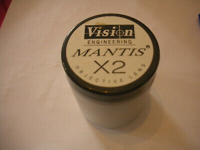 Vision Engineering 2X Mantis Microscope Objective Lens X2