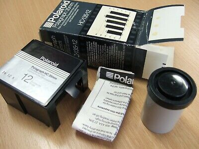 POLAROID 35mm POLAGRAPH HC-135-12 FILM PACK+Processing Pack Dated Dec 1984