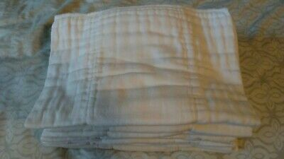 Large Unbranded Prefold Cloth Diaper Inserts