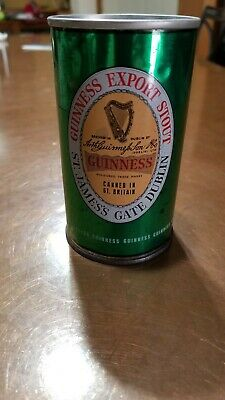 Guinness Export Stout pull tab  beer can