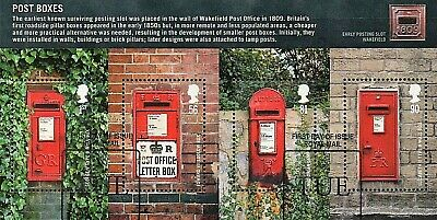 GB Stamps 2009 'Post Boxes' MS2954 - fine used