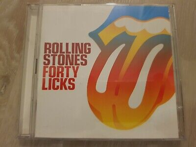 THE ROLLING STONES Forty Licks, 2 CD /Best Of/2002/40 Songs