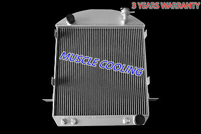 3 Row Ace Champion Radiator for 1917-1927 Ford T-Bucket Chevy Configuration