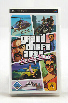 GTA - Grand Theft Auto: Vice City Stories (dt.) (Sony PSP) Spiel in OVP, GUT