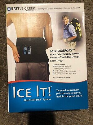 """Battle Creek Ice It! Hot & Cold Comfort System, Extra Large, 9"""" X 20"""" Model 550"""