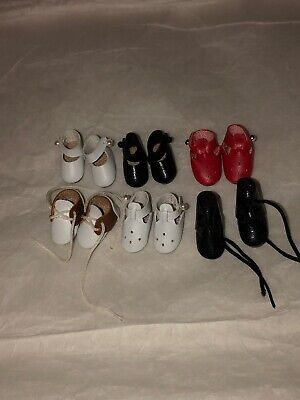 American Girl Mini Doll Shoes Lot -CLONE 6 Pairs